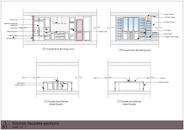 Elevation Symbol On Floor Plan Perfect Kitchen Island Elevation Cabinet Charming Cad 1215799683