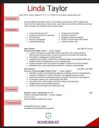 Experienced Teacher Resume Examples  experienced teacher resume