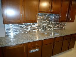 Mosaic Tiles For Kitchen Backsplash Interesting Cream Color Metal Tiles Kitchen Backsplash Come With