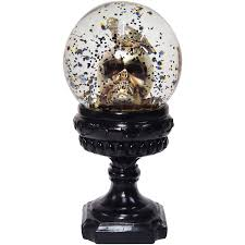 halloween skeletons decorations skull snowglobe halloween decoration walmart com