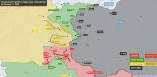 Syria Map War by Agathocle De Syracuse Loyalists U0026 Sdf North Aleppo Offensive 1