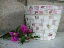 Shabby Chic Planters by 8 Best Shabby Chic Plant Pots Images On Pinterest Clay Pots