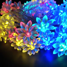Blue Led String Lights by Online Get Cheap Lotus Led Lights Aliexpress Com Alibaba Group
