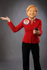 purge mask halloween city halloween funny hillary clinton election candidate party costume