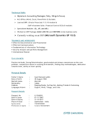 Accounting Resume Examples by Download Accounting Skills Resume Haadyaooverbayresort Com