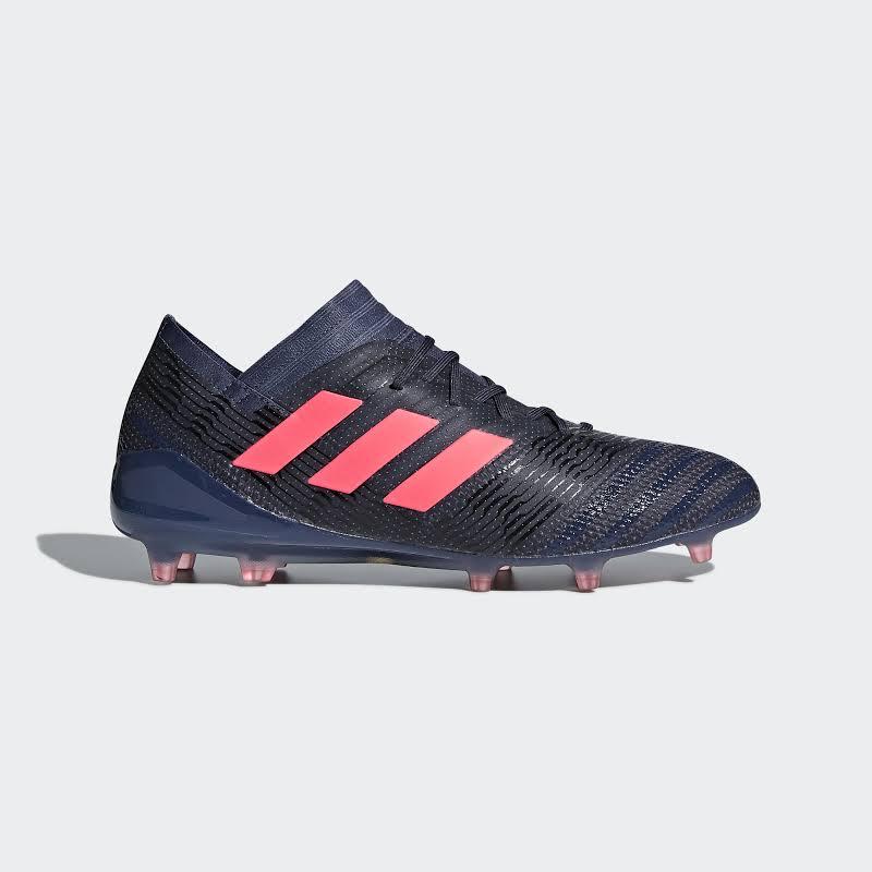 adidas Nemeziz 17.1 Firm Ground Soccer Cleats Blue- Womens