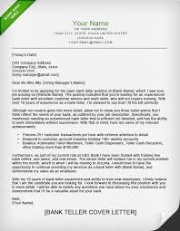 Sample Resume For Overseas Jobs by Bank Teller Cover Letter Sample Resume Genius
