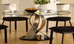 glass dining room table set for home furniture ideas home