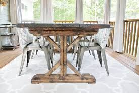 dining room table diy 2406