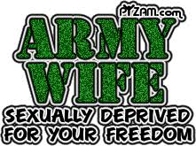 Some MilSpouse Quotes Piss Me Off. And Glitter Graphics Make Me Puke.