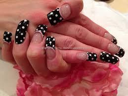 40 black and white polka dot nail art designs for trendy girls