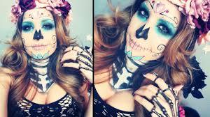 The 15 Best Sugar Skull Makeup Looks For Halloween Halloween by Sugar Skull Makeup Tutorial You Mugeek Vidalondon