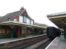Kingscote railway station