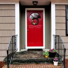 best red paint color for front door amazing best 25 red front