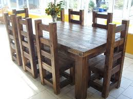 The  Best Chunky Dining Table Ideas On Pinterest Farm Style - Timber kitchen table