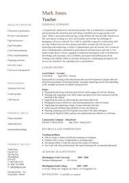 What Is Job Profile In Resume by 25 Best Teacher Resumes Ideas On Pinterest Teaching Resume