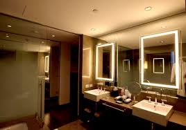 awesome bathroom led light fixtures led vanity lights lowes mirror