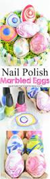 diy nail polish marbled eggs a pumpkin and a princess