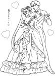 ระบายสีการ์ตูนสำหรับเด็กผู้หญิง เซเลอร์มูน เซรามูน Sailor Moon ...
