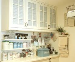 Shabby Chic Kitchen Cabinet Kitchen Cabinet Blinds The Upper And Lower Cabinets Are Fr U2026 Flickr