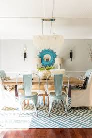 Dining Room Makeovers by Bringing Rustic Coastal Vibes To My Dining Room