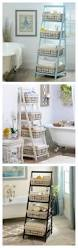 25 best bathroom storage ideas on pinterest bathroom storage i love the octopus print in the bathroom near the tub kirkland s ladder shelves are exactly what you need to get your home organizes