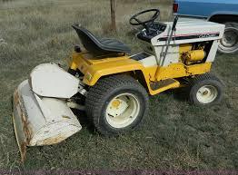 cub cadet 129 tiller tractor item b3963 sold wednesday