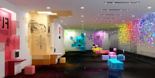 attractive new atmosphere by creating creative office interior