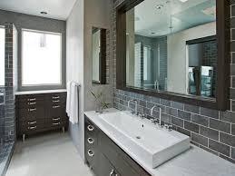choosing a bathroom backsplash hgtv gray master bathroom