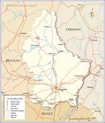 Map Of France And Switzerland by Map Of Luxembourg Nations Online Project
