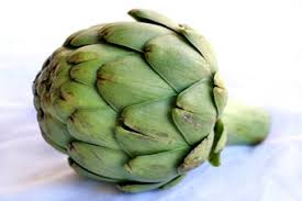up eating artichokes and