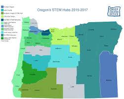 Newport Oregon Map by More Stem Hubs In Oregon Oregon Coast Stem Hub Oregon State