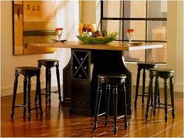 Kitchen Table Bar Style Black Kitchen Table Set And Chairs Outofhome