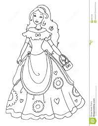 extraordinary princess coloring page princess bratz