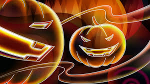 halloween background 1366x768 1366x768 neon halloween desktop pc and mac wallpaper