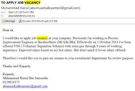Contoh Application Letter Bahasa Inggris   Cover Letter Templates