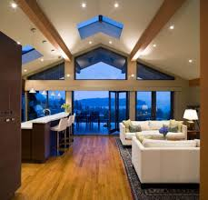 Exposed Beam Ceiling Living Room by Makeovers And Decoration For Modern Homes Vaulted Ceiling