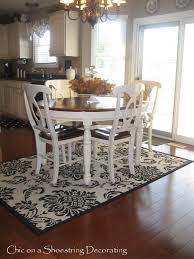 Rug For Kitchen Rugs Under Kitchen Table Roselawnlutheran