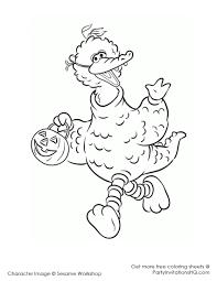 big bird coloring page cute with image of big bird 4 6673