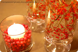 33 shades of green handmade holidays easy centerpiece idea
