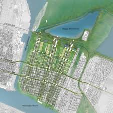 Ninth Ward New Orleans Map by In The Mississippi Delta Building With Water