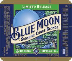 Blue Moon Sunshine Citrus Blonde | Beer Street Journal
