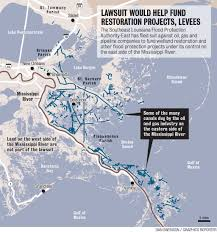 Us Circuit Court Map East Bank Levee Authority Oil Industry Face Off At Appeals Court