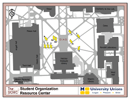 Map Of University Of Michigan by Banner Locations Map Sorc