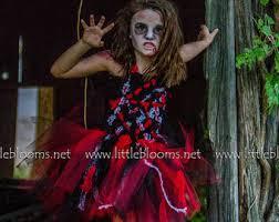 Girls Zombie Halloween Costumes Girls Zombie Costume Zombie Tutu Zombie Costume Zombie Tutu