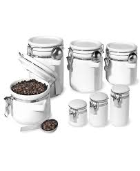 100 kitchen storage canister coloured tea coffee sugar