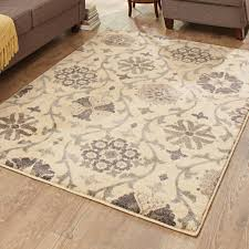 Teen Rugs Better Homes And Gardens Cream Floral Vine Area Rug Walmart Com