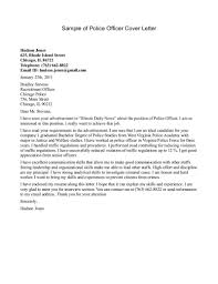 Job Wining Police Resume Cover Letter   Vntask com Vntask com