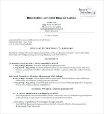 Samples Of Resumes For Highschool Students by Retail Cv Template Sales Environment Sales Assistant Cv Shop Work