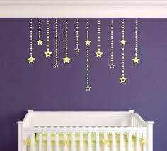 falling stars wall decals wall decor girls bedroom wall zoom